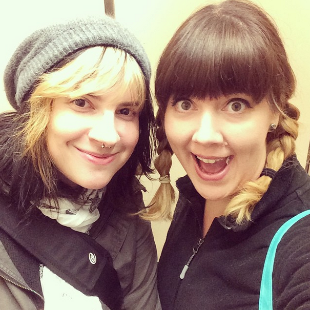 My good friend Cortney and I went down to Boston. Yay for elevator selfies!