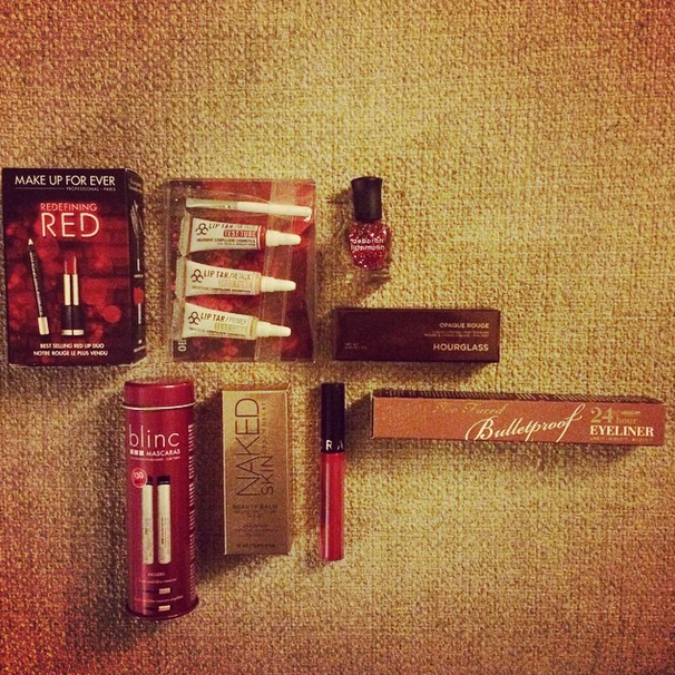 I also scored this awesome beauty haul from the Cambridgeside Galleria Mall's Sephora.