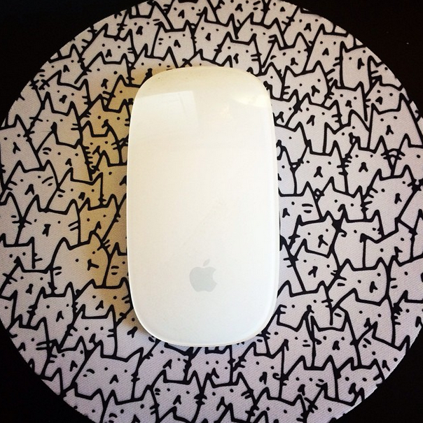 My new mousepad came in the mail!