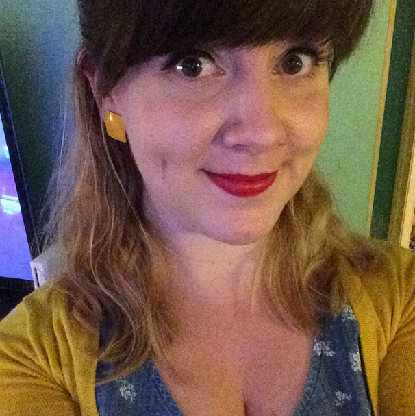 I rocked some mustard yellow.