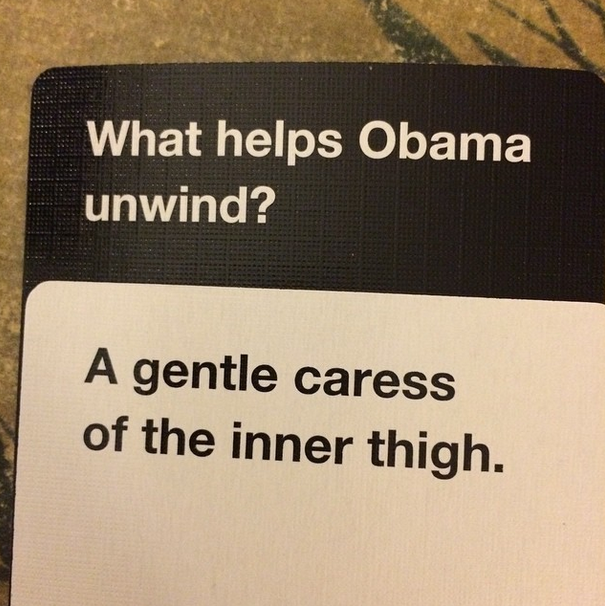 Nate won several rounds with gems like this.